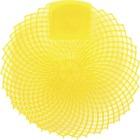 Genuine Joe Eclipse Anti-Splash Deodorizing Urinal Screen - Citrus Grove - Anti-splash - 12 / Dozen - Yellow
