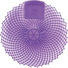 Genuine Joe Eclipse Anti-Splash Deodorizing Urinal Screen - Lavender Fields - Anti-splash - 12 / Dozen - Purple