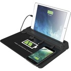 ChargeTech Tablet & Phone Charging Pad - Wired - Tablet, Cellular Phone, iPhone 4, iPhone 5 - Charging Capability - Black