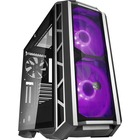 """Cooler Master MasterCase H500P Mesh - Mid-tower - Gunmetal - Steel, Plastic, Mesh, Tempered Glass - 4 x Bay - 3 x 7.87"""" (200 mm), 5.51"""" (140 mm) x Fan(s) Installed - 0 - ATX, Micro ATX, Mini ITX, EATX Motherboard Supported - 11.30 kg - 7 x Fan(s) Supporte"""
