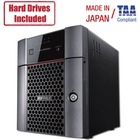 Buffalo TeraStation 3410DN Desktop 8 TB NAS Hard Drives Included (2 x 4TB, 4 Bay) - Annapurna Labs Alpine AL-212 Dual-core (2 Core) 1.40 GHz - 4 x HDD Supported - 2 x HDD Installed - 8 TB Installed HDD Capacity - 1 GB RAM DDR3 SDRAM - Serial ATA/600 Contr