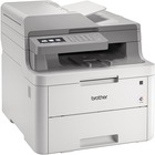 Brother MFC MFC-L3710CW Laser Multifunction Printer - Color - Copier/Fax/Printer/Scanner - 19 ppm Mono/19 ppm Color Print - 600 x 2400 dpi Print - 1200 dpi Optical Scan - 251 sheets Input - Wireless LAN