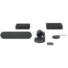 Logitech Rally Video Conference Equipment - 3840 x 2160 Video (Live) - 4K UHD - NTSC - 60 fps - 1 x Network (RJ-45) - USB - Gigabit Ethernet - External Microphone(s) - Desktop
