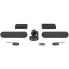 Logitech Rally Plus Video Video Conference Equipment - Full HD - 30 fps - 1 x Network (RJ-45) - USB - Gigabit Ethernet - External Microphone(s) - Desktop