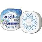 Bright Air Max Scented Gel Odor Eliminator - Gel - 226.8 g - Cool Clean - 1 Each - Odor Neutralizer, Phthalate-free, Paraben-free, BHT Free, Bio-based, Formaldehyde-free, NPE-free