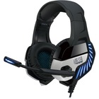 Adesso Virtual 7.1 Surround Sound Gaming Headset with Vibration - Stereo - USB - Wired - 20 Ohm - 20 Hz - 20 kHz - Over-the-head - Binaural - Circumaural - 6.6 ft Cable - Omni-directional, Noise Cancelling Microphone - Black