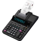 """Casio DR-210R Printing Calculator - 4.4 lps - Heavy Duty, Large Display, Easy-to-read Display, Dual Power, Durable, Two-color Printing - 12 Digits - 4.4"""" x 8.4"""" x 15"""" - Black - Desktop - 1 Each"""
