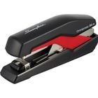 "Swingline Rapid Omnipress 30 Stapler - 30 Sheets Capacity - 210 Staple Capacity - Full Strip - 1/4"" Staple Size - Black, Red"
