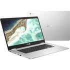 "Asus Chromebook C523NA-DH02 15.6"" Chromebook - 1366 x 768 - Celeron N3350 - 4 GB RAM - 32 GB Flash Memory - Silver - Chrome OS - Intel HD Graphics - Bluetooth"