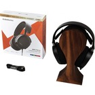 SteelSeries Arctis 3 Console Edition 2019 Edition - Stereo - Mini-phone - Wired - 32 Ohm - 20 Hz - 22 kHz - Over-the-head - Binaural - Circumaural - 9.8 ft Cable - Bi-directional, Noise Cancelling Microphone - Black