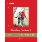 "Canon PP-301 Inkjet Print Photo Paper - Letter - 8 1/2"" x 11"" - Glossy - 20 / Pack - White"