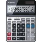 "Canon TS1200TSC 12-digit Desktop Calculator - Extra Large Display - 12 Digits - LCD - Solar Powered - 7"" x 5"" x 0.7"" - Metal - Desktop - 1 Each"