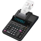 "Casio DR-120R Printing Calculator - Dual Color Print - 3.5 lps - Two-color Printing, Independent Memory, Plastic Key, Large Display, Key Rollover - 12 Digits - 4.4"" x 8.1"" x 14.8"" - Black - Desktop - 1 Each"