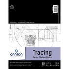"Canson Foundation Tracing - 50 Sheets - Twin Wirebound - 25 lb Basis Weight - 40 g/m² Grammage - 9"" x 12"" - Micro Perforated, Removable, Translucent, Smooth, Scrap Resistant, Acid-free - 1Each"