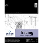 "Canson Foundation Tracing - 50 Sheets - 100 Pages - Twin Wirebound - 25 lb Basis Weight - 40 g/m² Grammage - 11"" x 14"" - Translucent, Smooth, Scrap Resistant, Acid-free - 1Each"