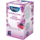 Tata Wildberries Tea - Herbal Tea - Wild Berry, Hibiscus, RosehipTeabag - 25 / Box
