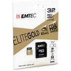 EMTEC Gold+ 32 GB Class 10/UHS-I (U1) microSDHC - 1 Year Warranty