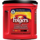 Folgers Classic Roast Coffee - Compatible with French Press, Drip-coffee Brewer - Arabica - Classic