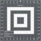 "Fiskars Compact Cutting Mat - Paper Craft, Card, Scrapbook Page - 12"" (304.80 mm) Length x 12"" (304.80 mm) Width - Polyvinyl Chloride (PVC) - Gray, White"