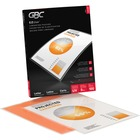 """GBC EZUse Thermal Letter-size 3m Laminating Pouch - Sheet Size Supported: Letter 8.50"""" (215.90 mm) Width x 11"""" (279.40 mm) Length - Laminating Pouch/Sheet Size: 5 mil Thickness - Glossy, Crystal - Jam-free, Fade Resistant, Discoloration Resistant, Alignme"""