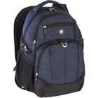 """Holiday Carrying Case (Backpack) for 15.6"""" Notebook - Navy - Denim - Shoulder Strap - 19"""" (482.60 mm) Height x 8"""" (203.20 mm) Width x 14"""" (355.60 mm) Depth"""