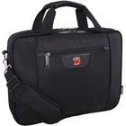 """Swissgear SWA5117 Carrying Case (Briefcase) for 15.6"""" Notebook - Black - Anti-slip - 600D Polyester - Handle, Shoulder Strap, Trolley Strap - 11.50"""" (292.10 mm) Height x 15.50"""" (393.70 mm) Width x 3"""" (76.20 mm) Depth"""