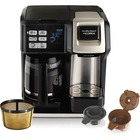 Hamilton Beach Flexbrew Coffeemaker - 414.03 mLSingle-serve - Black