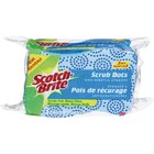 Scotch-Brite Scrub Dots Non-Scratch Sponge - 3/Pack - Green