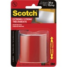 "Scotch Extreme Mounting Tape - 4 ft (1.2 m) Length x 2"" (50.8 mm) Width - Double-sided, Permanent Adhesive, Long Lasting - 1 Each"