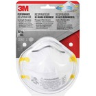 3M Paint Sanding Respirator - Recommended for: Deck, Woodworking, Sanding - Disposable, Comfortable, Lightweight, Filter, Breathable - Odor, Particulate, Dust, Respiratory Protection - 2 / Pack