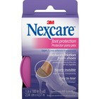 "Nexcare Nexcare Foot Protection Tape - 15 ft (4.6 m) Length x 1"" (25.4 mm) Width - Ultra Thin, Water Proof, Comfortable, Breathable, Flexible, Easy Tear - 24 / Carton - 1 Per Roll - Clear"