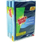 Scotch-Brite Scrub Sponge - 6/Pack - Blue, Green