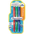 Paper Mate Clearpoint Mechanical Pencil - 0.7 mm Lead Diameter - Blue, Green, Red Barrel - 3 / Pack