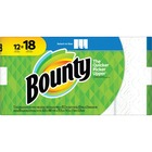 Bounty Select-A-Size Sheets - 2 Ply - Paper - Absorbent, Long Lasting - For Breakroom - 83 - 12 / Pack