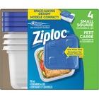 Ziploc® Storage Ware - Food Container - Dishwasher Safe - Microwave Safe - 4 Piece(s) / Pack