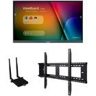 "Viewsonic IFP6550-E1 - 65"" ViewBoard 4K Ultra HD Interactive Flat Panel Bundle - 65"" LCD - ARM Cortex A53 1.20 GHz - 2 GB - Infrared (IrDA) - Touchscreen - 16:9 Aspect Ratio - 3840 x 2160 - LED - 350 cd/m² - 1,200:1 Contrast Ratio - 2160p - USB - HDM"