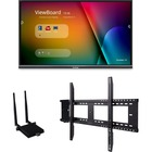 "Viewsonic IFP7550-E1 - 75"" ViewBoard 4K Ultra HD Interactive Flat Panel Bundle - 75"" LCD - ARM Cortex A53 1.20 GHz - 2 GB - Infrared (IrDA) - Touchscreen - 16:9 Aspect Ratio - 3840 x 2160 - LED - 350 cd/m² - 1,200:1 Contrast Ratio - 2160p - USB - HDM"