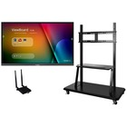 """Viewsonic ViewBoard IFP8650-E2 Collaboration Display - 86"""" LCD - ARM Cortex A53 1.20 GHz - 2 GB - Infrared (IrDA) - Touchscreen - 16:9 Aspect Ratio - 3840 x 2160 - LED - 350 cd/m² - 1,200:1 Contrast Ratio - 2160p - USB - HDMI - VGA - Android 5.1 Loll"""
