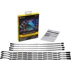 Corsair RGB LED Lighting PRO Expansion Kit - LED - Black - Silicone - Surface Mount