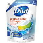 Dial Complete Foam Soap Refill - Coconut Water Scent - 1.18 L - Kill Germs - Hand - Anti-bacterial, Moisturizing - 1 Each