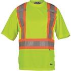 Viking Journeyman Safety T-Shirt Large Lime Green