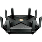 TP-Link Archer AX6000 IEEE 802.11ax Ethernet Wireless Router - 2.40 GHz ISM Band - 5 GHz UNII Band - 750 MB/s Wireless Speed - 8 x Network Port - 1 x Broadband Port - USB - 2.5 Gigabit Ethernet - VPN Supported - Desktop