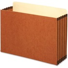 """Pendaflex Legal-size File Cabinet Pocket - 5 1/4"""" Folder Capacity - Legal - 8 1/2"""" x 14"""" Sheet Size - 1050 Sheet Capacity - 5 1/4"""" Expansion - Straight Tab Cut - Top Tab Location - Paper - Brown - Recycled - 10 / Box"""