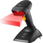 Adesso NuScan 2500TU Spill Resistant Antimicrobial 2D Barcode Scanner - Wireless Connectivity - 1D, 2D - CMOS - Bluetooth