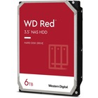 "WD Red WD60EFAX 6 TB Hard Drive - 3.5"" Internal - SATA (SATA/600) - Storage System Device Supported - 5400rpm - 180 TB TBW - 3 Year Warranty"