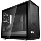 "Fractal Design Meshify S2 - Tempered Glass Computer Case - Mid-tower - Black - Steel, Tempered Glass - 5 x Bay - 3 x 5.51"" (140 mm) x Fan(s) Installed - EATX, ATX, Micro ATX, ITX Motherboard Supported - 10.04 kg - 9 x Fan(s) Supported - 2 x Internal 2.5"""