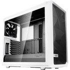"Fractal Design Meshify S2 - Tempered Glass Computer Case - Mid-tower - Black, White - Steel, Tempered Glass - 5 x Bay - 3 x 5.51"" (140 mm) x Fan(s) Installed - EATX, ATX, Micro ATX, ITX Motherboard Supported - 10.04 kg - 9 x Fan(s) Supported - 2 x Interna"
