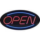 Royal Sovereign Oval LED OPEN Sign