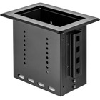 StarTech.com Single-Module Conference Table Connectivity Box - For Adding Power / Charging / AV / Laptop Docking Module - Single-Module Conference Table Connectivity Box - Customizable Solution - Add a connectivity module (sold separately) to the architec