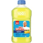 Mr. Clean Antibacterial Cleaner - Liquid - 1.33 L - Summer Citrus Scent - 1 Bottle - Yellow